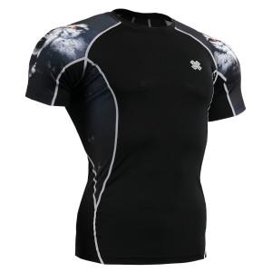 FIXGEAR C2S-B18 kompresní triko s krátkým rukávem