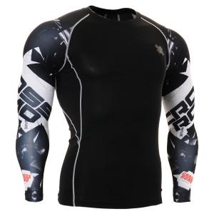 FIXGEAR CPD-B17 kompresní triko s dlouhým rukávem