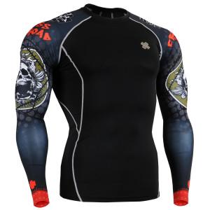 FIXGEAR CPD-B5 kompresní triko s dlouhým rukávem