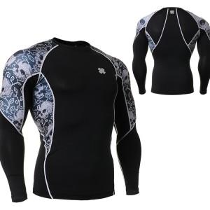 FIXGEAR C2L-B40 kompresní triko s dlouhým rukávem