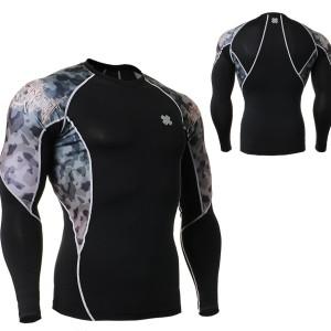 FIXGEAR C2L-B45 kompresní triko s dlouhým rukávem