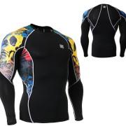 FIXGEAR C2L-B46 kompresní triko s dlouhým rukávem