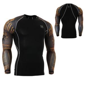 FIXGEAR CPD-B27 kompresní triko s dlouhým rukávem