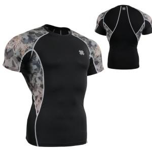 FIXGEAR C2S-B45 kompresní triko s krátkým rukávem