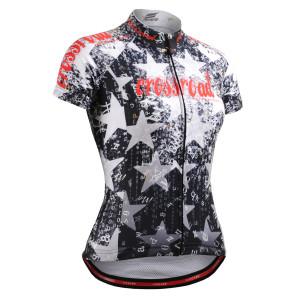 FIXGEAR CS-W2402 dámský cyklistický dres s krátkým rukávem